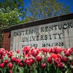 eastern kentucky univeristy sign