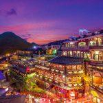 night scene of Taipei Mandarin-on-the-Go