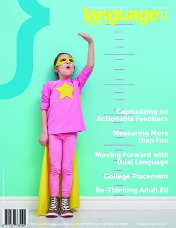 Language Magazine - Improving Literacy & Communication