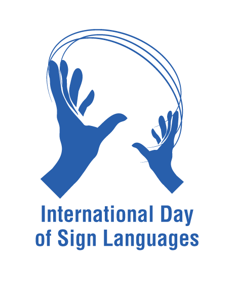 Intl Day of Sign Languages Logo
