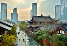 Chengdu, Old and New (Temples, Shopping District, and Modern City Center) - Chengdu, China