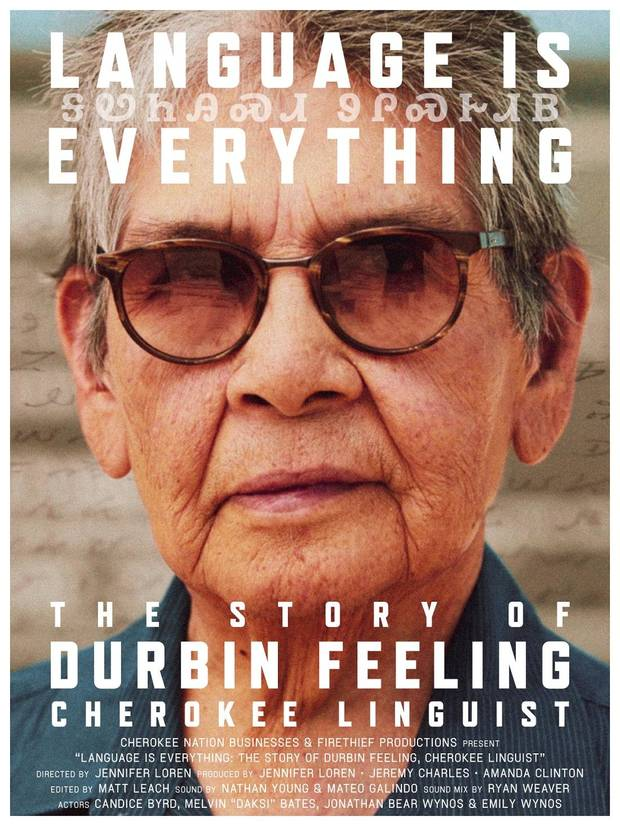 """The short documentary """"Durbin Feeling: Language Is Everything"""" honors the Cherokee linguist after whom the legislation is named."""